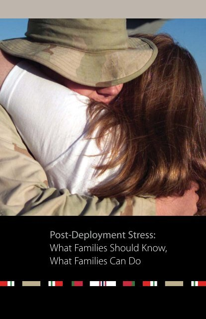 Post-Deployment Stress: What Families Should Know, What ...