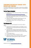 PreParation & Recovery - University of Florida Family Youth and ... - Page 7