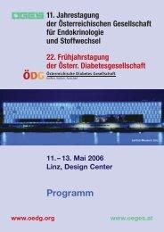 Hauptprogramm - ÖDG