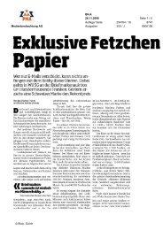 Blick - Peter Rapp AG