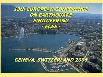 GENEVA, SWITZERLAND 2006 - EAEE