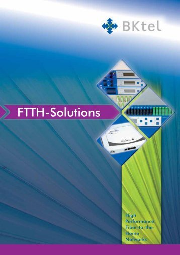 FTTH-Solutions - BKtel