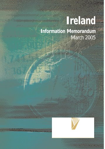 Ireland Information Memorandum 2005 - Terms and Conditions