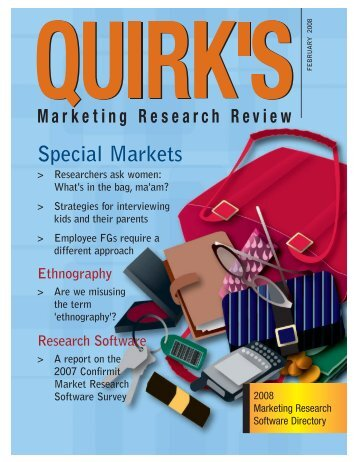 Tabulation Software - Quirk's Marketing Research Review