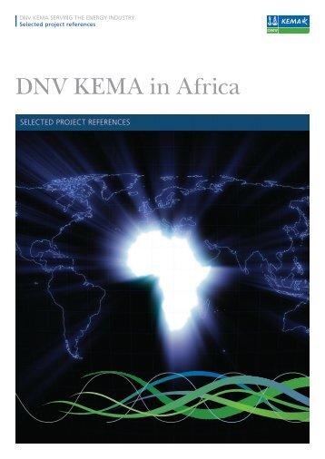 DNV KEMA in Africa