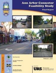 Ann Arbor Connector Feasibility Study - The Ride
