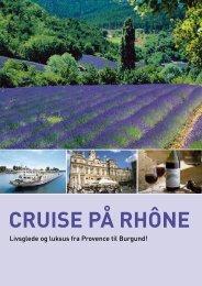 CRUISE PÅ RHÔNE - Unik Travel