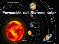 Formación del Sistema solar - ies