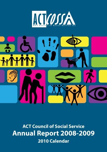 ACTCOSS Annual Report 2008-09 - ACT Council of Social Service