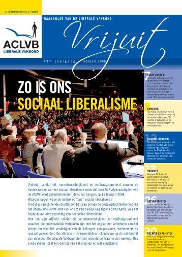 zo is ons sociaal liberalisme zo is ons sociaal liberalisme - Aclvb