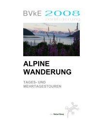 Alpine Wanderung Tages und Mehrtagestouren.pdf - Raphaelshaus