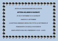 Invito all'inaugurazione della nuova Bottega del Mondo di Gavirate ...