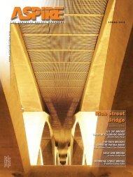 Aspire - The Concrete Bridge Magazine - Spring 2013