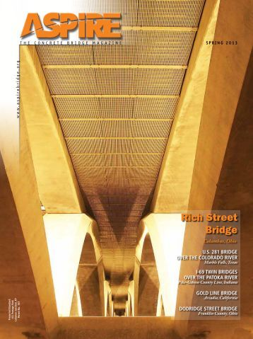 Aspire - The Concrete Bridge Magazine - Spring 2013