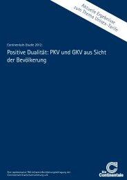 Die Continentale-Studie 2012 als PDF