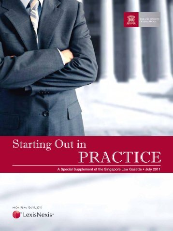 Starting Out in Practice - Law Society of Singapore