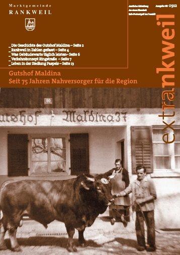extRankweil September 2012 - Marktgemeinde Rankweil