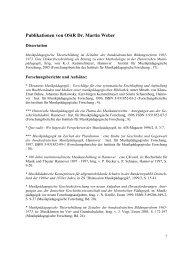 Publikationen von OStR Dr. Martin Weber - IfMpF