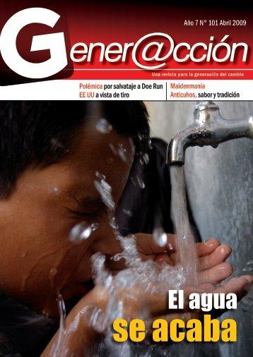 El agua - Generaccion.com