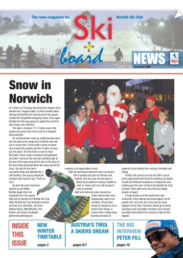 Ski News Dec08.pdf - Norfolk Snowsports Club