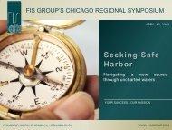 Seeking Safe Harbor - Fis Group's Chicago Regional Symposium