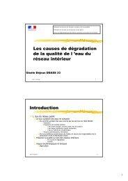 le support de formation de Gisèle DEJEAN