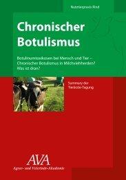 Chronischer Botulismus - Animal-Health-Online
