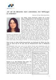 Das Interview mit Sara Pöhler-Häusermann in ganzer Länge