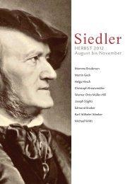 Siedler - Verlagsgruppe Random House GmbH