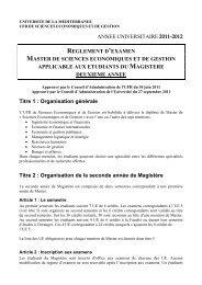 annee universitaire 2011-2012 reglement d'examen master de ...