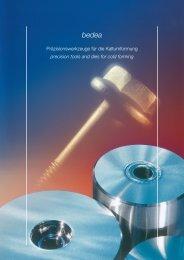 Präzisionswerkzeuge für die Kaltumformung precision tools and ...
