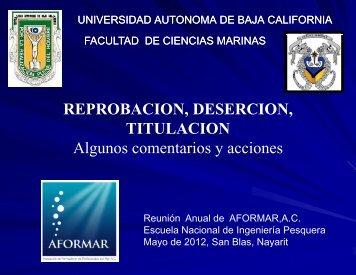 FCM UABC Aformar 2012.pdf - Facultad de Ciencias Marinas