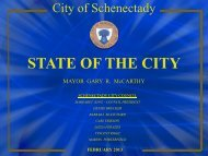 State of the City 2013 - City of Schenectady