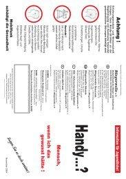 Folder Handy - Bürgerwelle (pdf - 436kB) - INITIATIVE Information ...