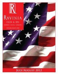 July/August 2012 - Ravinia Club