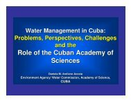 Water Management in Cuba - ianas