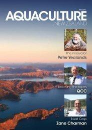 May 2013 - Aquaculture New Zealand