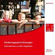 Kindertageseinrichtungen - Stadt Rastatt