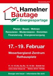 Hamelner Bautage - Rainer Timpe GmbH