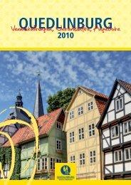Veranstaltungen, Unterkunfte, Angebote - Quedlinburg