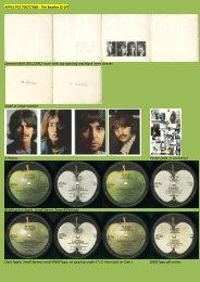 APPLE PCS 7067/7068 - The Beatles [2-LP ... - applerecords.nl