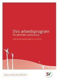SVs arbeidsprogram - NSD