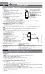LED Nightlight & Single Pole Switch — 7738 - Cooper Industries
