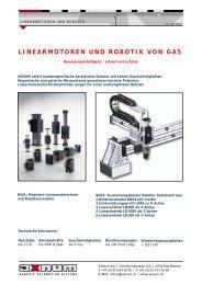 Katalog Linearachsen LD - AxNum AG