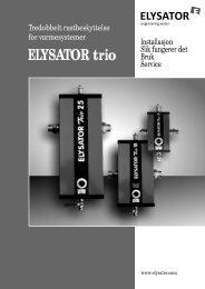 ELYSATOR trio - Vaillant