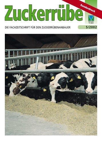 Sonderdruck Zuckerrübe, 5/2002 - agrar produkte Pfeifer & Langen