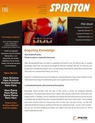 006 Acquiring Knowledge - Spiriton Newsletter - ebooks - ISKCON ...