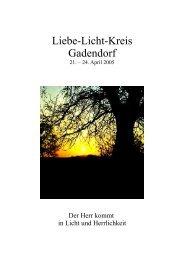 PDF-Datei ( 403 KB ) - Liebe-Licht-Kreis Jesu Christi