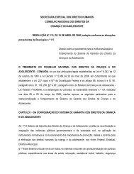 secretaria especial dos direitos humanos conselho nacional dos ...
