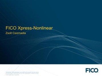 Xpress NLP - FICO